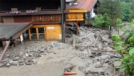Güney Almanya'da evler boşaltılıyor!