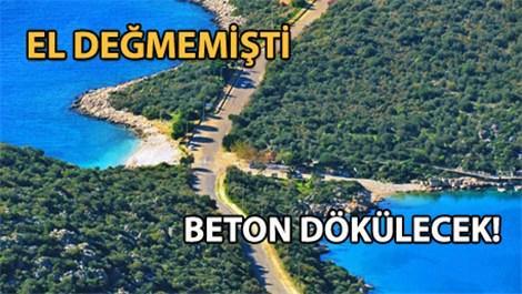 Antalya'nın İnceboğaz Plajı mesire yeri olacak!