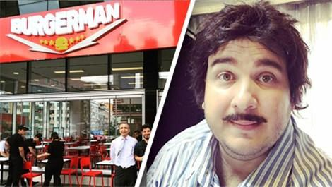 Şahan Gökbahar, Burgerman'i açtı!