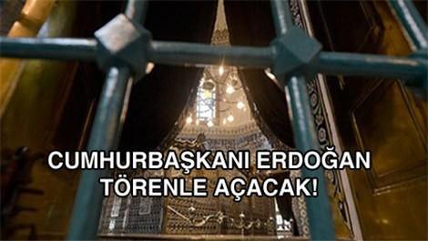 Eyüp Sultan Türbesi kapıları bugün açılıyor!