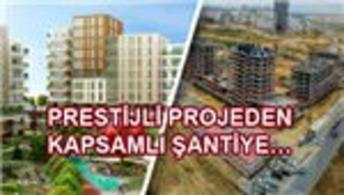 Evvel İstanbul'dan çalışanlara 3 katlı şantiye!