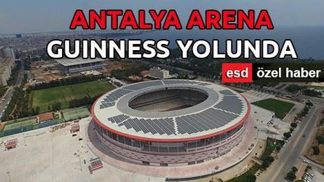 Antalya Arena, enerjisini kendi üretecek!