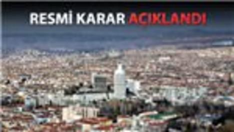 Ankara'da kentsel dönüşüm başlıyor!