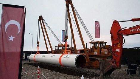 TANAP boru hattı projesinde çalışma alanı