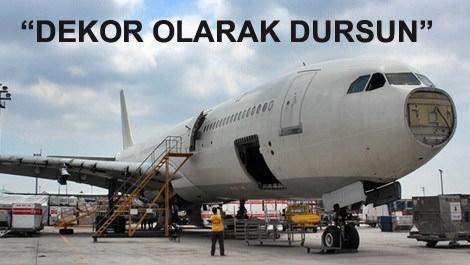 satışa çıkarılan Airbus A340 tipi uçak