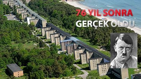 Hitler'in hayali Prora, tatil köyü oluyor