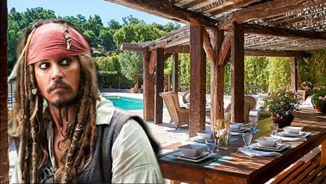 Johnny Depp, St. Tropez'deki fantastik evini satıyor!