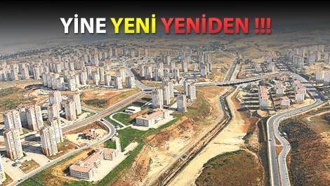 İstanbul'da sahne bir kez daha TOKİ'nin!