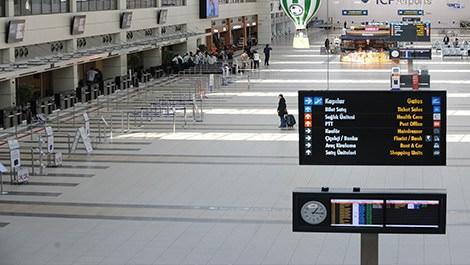 İşte Türkiye'nin en yoğun ikinci havalimanı