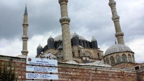 Selimiye'nin 'incisi' yenileniyor