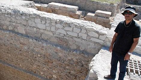 Denizli'deki kazıda bin 900 yıllık yapılar ortaya çıktı