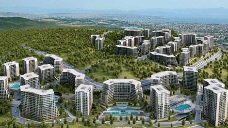 Tuzla Evora İstanbul projesinin havadan görüntüleri