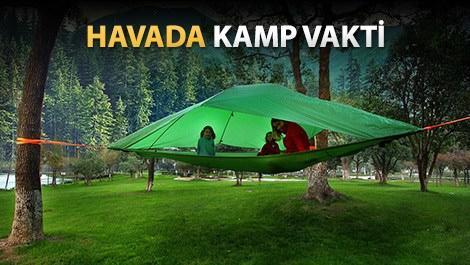 Kampçılıkta son nokta: Çadır hamak