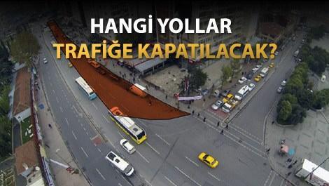 Mecidiyeköy İstasyonu'nda yapım aşamasına gelindi!