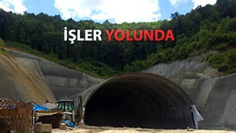 3. Köprü'de Riva Tüneli'nin sonuna gelindi!