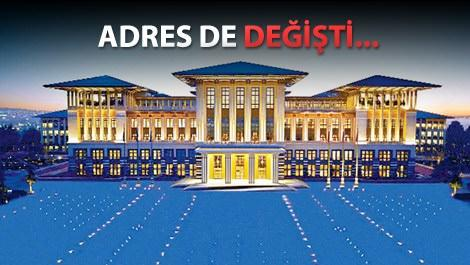 Cumhurbaşkanlığı Sarayı'nın adı 'Külliye' oldu!