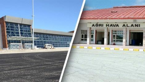 Ağrı ve Hakkari havalimanlarının isimleri değişti!