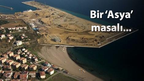 En büyük konteyner liman Asyaport açılıyor