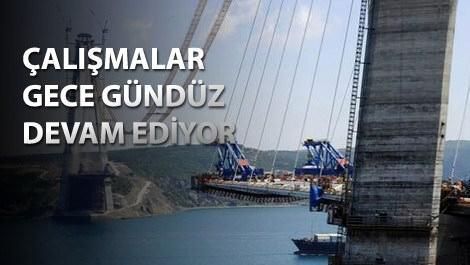 Üçüncü köprüsünün son durumu