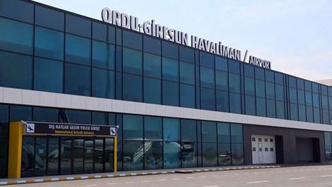 Ordu-Giresun Havalimanı havadan görüntüsü