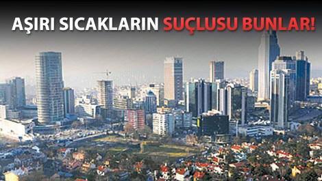 istanbul neden çok sıcak