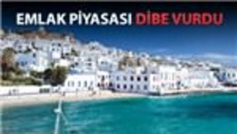 Yunanistan'da ev fiyatları yüzde 40 düştü