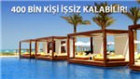 Türkiye'de 30 otel iflas bayrağını çekti!