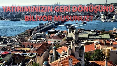 İstanbul'da amortisman süreleri uzuyor!
