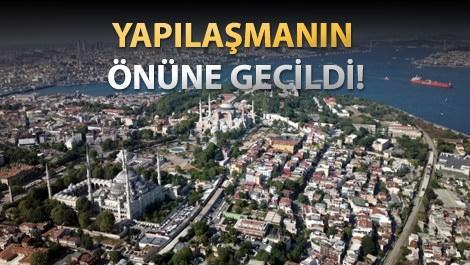 İstanbul'daki camilerine ve boğazın havadan görüntüsü
