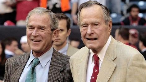 George H.W. Bush ve George W. Bush