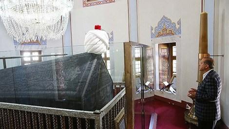 Cumhurbaşkanı Erdoğan, Yavuz Sultan Selim Türbesi'nde dua etti