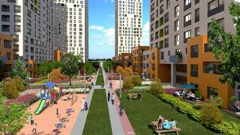 Hep İstanbul projesinin yeşil alanı