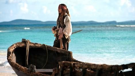 Johnny Depp, Karayip Korsanları'nın çekildiği adada