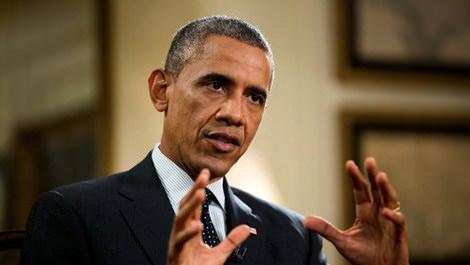 Obama konuşma yaparken