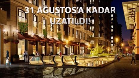 Piyalepaşa İstanbul projesinin gece görüntüsü