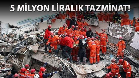 Çevre ve Şehircilik Bakanlığı'na deprem cezası!