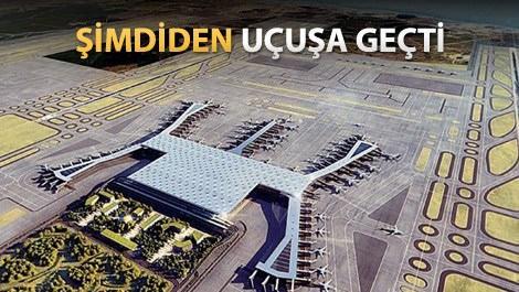 3. havaalanı, arsa fiyatlarını yüzde 100 artırdı!