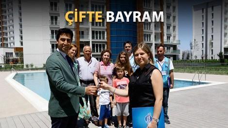 Tema İstanbul'da konutlar teslim edildi!
