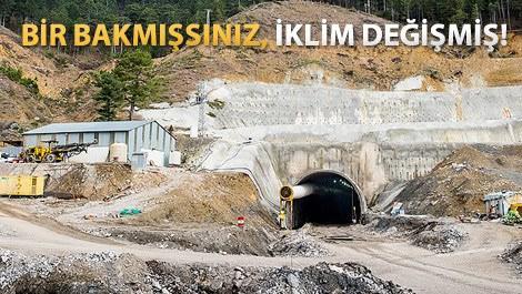 Demirkapı Tüneli'nin bu özelliğine çok şaşıracaksınız!