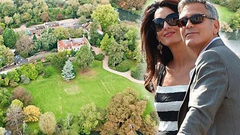 George ve Amal Clooney'nin evi
