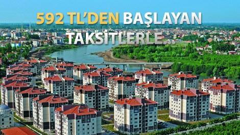 TOKİ'den 94 bin liraya 3+1 daire fırsatı!