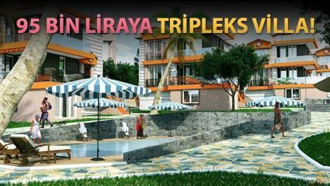 Bendis Villaları'nın havuzlu villaları
