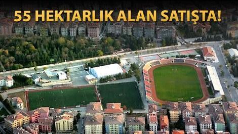 Çorum'da satışa çıkarılan Dr. Turan Kılıçoğlu Stadyum arsası