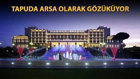 Mardan Palace Hotel'e haciz kararı çıktı!