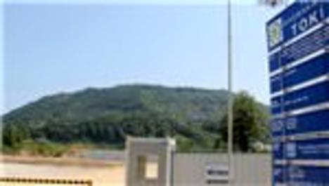 Giresun'da TOKİ inşaatı mühürlendi!