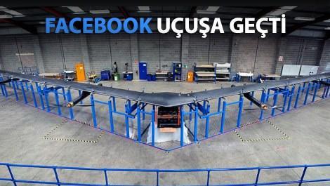 Facebook havadan bedava internet dağıtacak