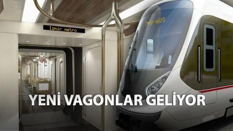 İzmir metrosunun yeni vagonları tasarlandı