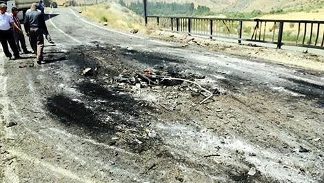Karakurt-Kağızman karayolunun ulaşıma kapandı
