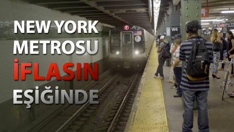 new york metrosunda bekleyenler