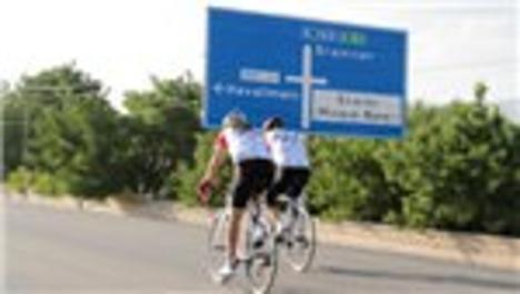 Fay hattında bisikletle 1500 kilometre